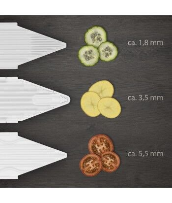 Mandoline V1 ClassicLine + 3 Plaques de coupe, Basic Set
