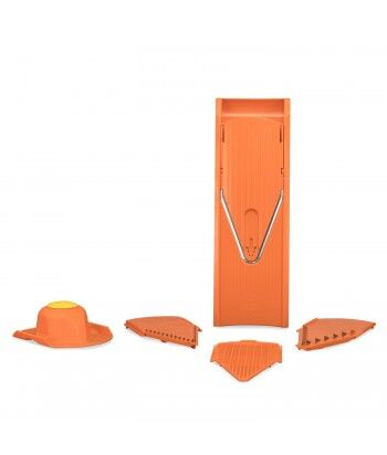 Mandoline V1 ClassicLine + 3 Plaques de coupe + Plaque de