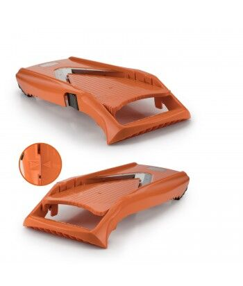 Mandoline V5 PowerLine + Box spécial V5 + Eplucheur Rond, Plus