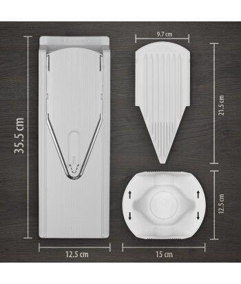 Mandoline V3 TrendLine + Plaque de coupe tranche et de
