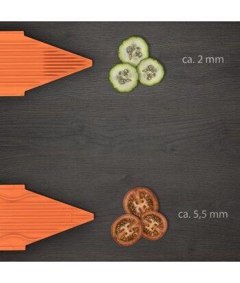 Mandoline V3 TrendLine + Multibox de Rangement + Saladier +