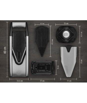 Mandoline V6 ExclusiveLine + Docking Station + Box Spécial, Pro